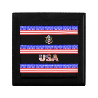 United States stripes flag Gift Box