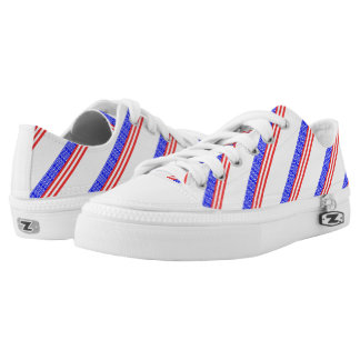 United States stripes flag Low Tops