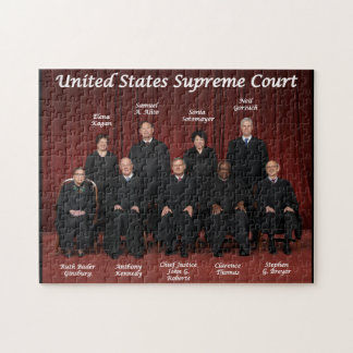 United States Supreme Court Justices Jigsaw Puzzle