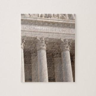 United States Supreme Court Pillars Jigsaw Puzzle