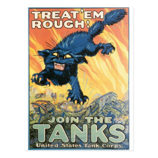 United States Tank Corps. circa 1918 Postcard