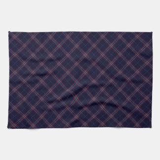 United States Tartan Designed Print (USA) Hand Towel