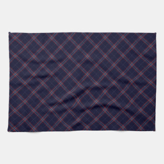 United States Tartan Designed Print (USA) Hand Towels