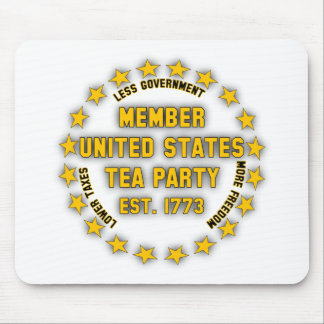 United States Tea Party Mouse Pad