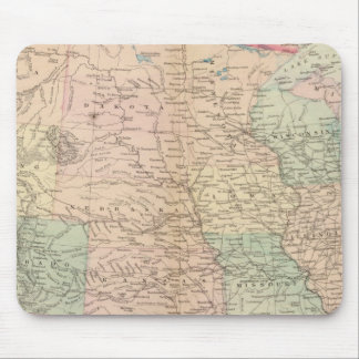 United States, territories Mouse Pad