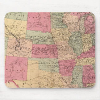 United States & territories Mouse Pad