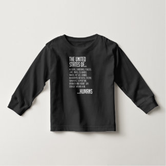 United States Toddler Dark Long Sleeve T-Shirt