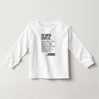 United States Toddler Long Sleeve T-Shirt