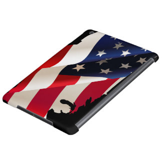 United States undulating flag iPad Air Case