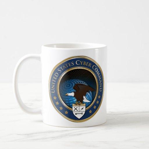 United States US Cyber Command USCYBERCOM mug