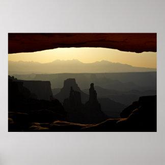 United States, Utah, Canyonlands National Park 3 Poster
