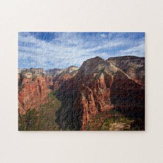 United States, Utah, Zion National Park Jigsaw Puzzle