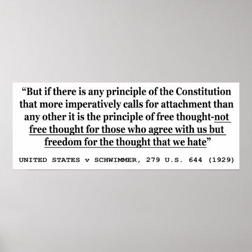 UNITED STATES v SCHWIMMER 279 US 644 (1929) Poster
