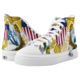 United States Virgin Islands Flag Sneakers