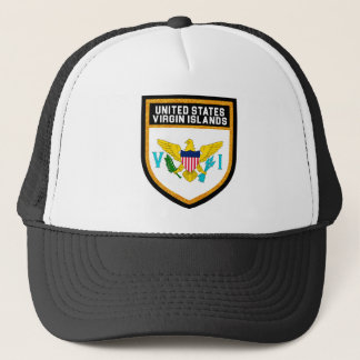 United States Virgin Islands Flag Trucker Hat