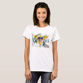 United States Virgin Islands Flag Women's T-Shirt