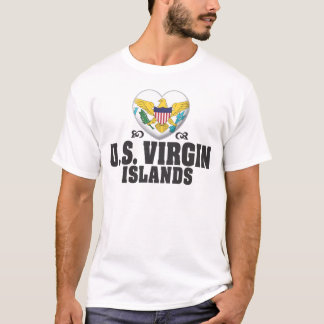 United States Virgin Islands Love C T-Shirt