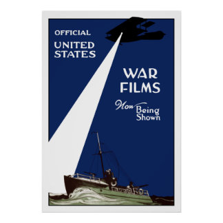 United States War Films Now Being Shown Poster