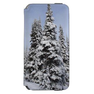 United States, Washington, snow covered trees Incipio Watson™ iPhone 6 Wallet Case