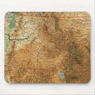 United States western section Mousepads