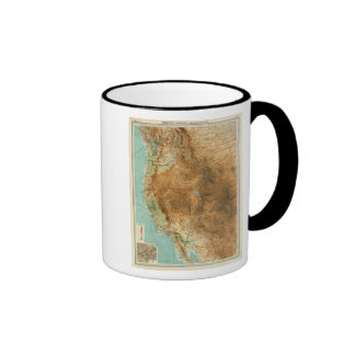 United States western section Coffee Mugs