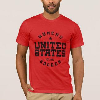 United States Women's Soccer Grunge Men's T-Shirt