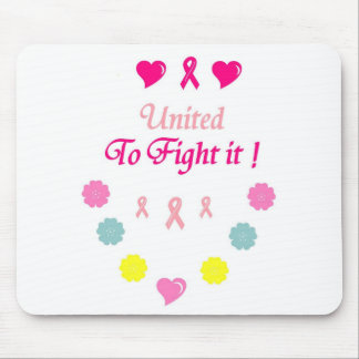 United to Fight Breast Cancer Mouse Pad