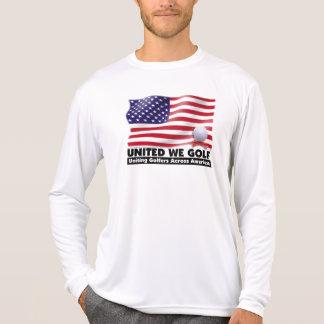 UNITED WE GOLF®  Long Sleeve Sport Shirt
