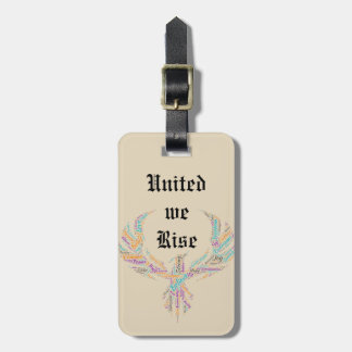 United We Rise Phoenix Luggage Tag