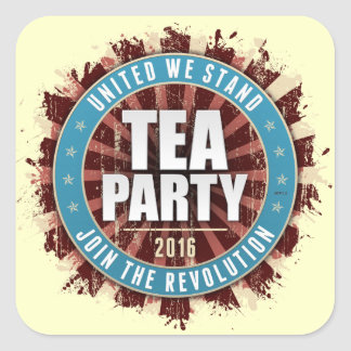 United We Stand 2016 Square Sticker