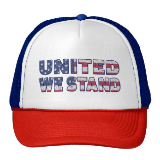 United We Stand 4th of July Trucker Hat