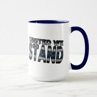 """United We Stand"" Deluxe 15oz Coffee Mug"