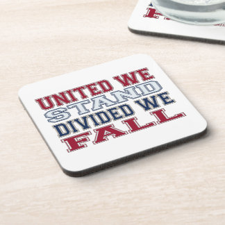 United We Stand, Divided We Fall T-Shirts and Gift Coaster