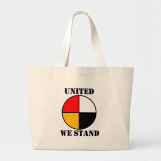 United We Stand Large Tote Bag