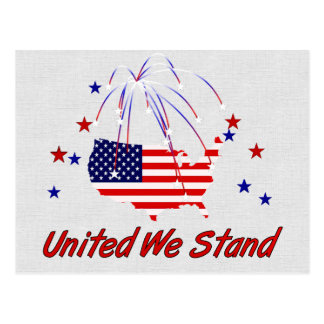 United We Stand Postcard