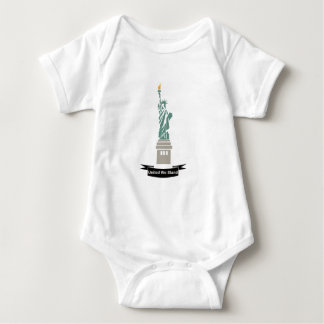 United We Stand Statue of Liberty Baby Bodysuit