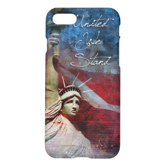 United We Stand Statue of Liberty iPhone case