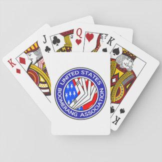 Unites States Boomerang Association Playing Cards