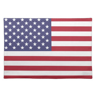 Unitet States of America flag Placemat