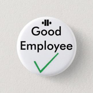 unity8, tick, Good Employee 3 Cm Round Badge
