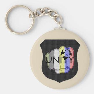 Unity 101 basic round button key ring