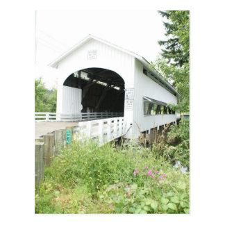 Unity Covered Bridge Postcard