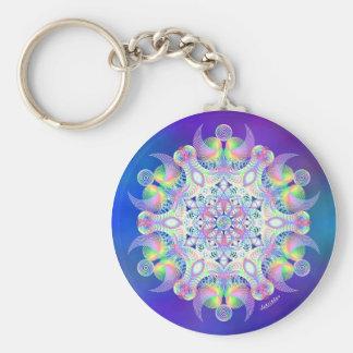 Unity - Fly Free Basic Round Button Key Ring