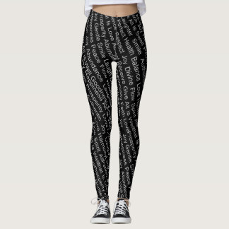 Unity of Fort Collins' Black Leggings