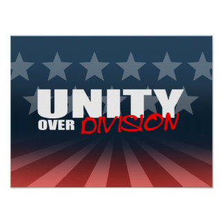 UNITY OVER DIVISION PRINT
