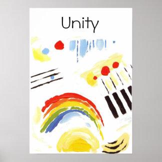 unity Quaker Poster