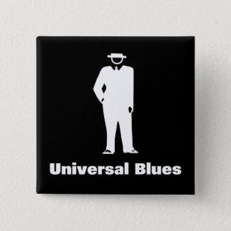 Universal Blues 15 Cm Square Badge