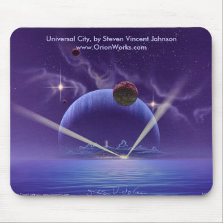Universal City, Universal City, by Steven Vince... Mouse Pad