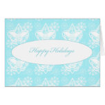 Universal Emblem Happy Holidays Greeting Card
