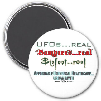 Universal Health Care 7.5 Cm Round Magnet